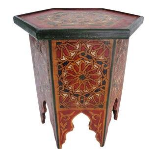 Vintage Moroccan Table