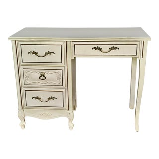 Vintage Lea French Provincial Style Writing Desk For Sale