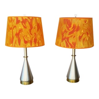 Vintage Mid Century Modern Table Lamps