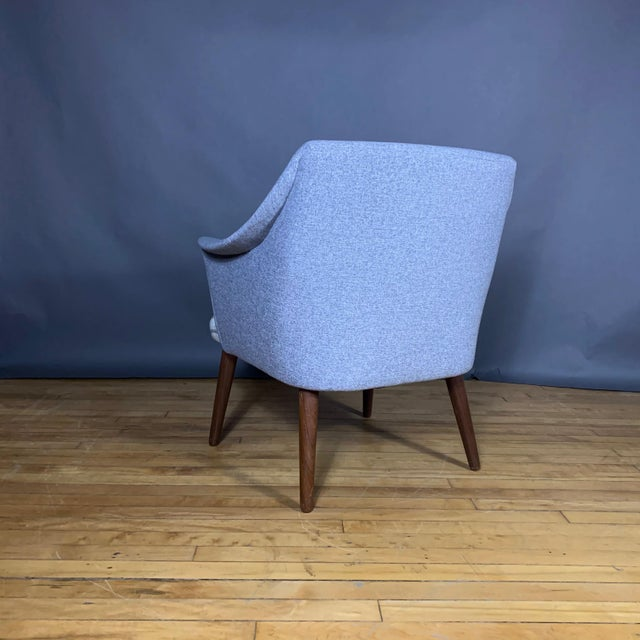 1960s Danish 1960 Armchair, New Mood Nyc Upholstery For Sale - Image 5 of 9