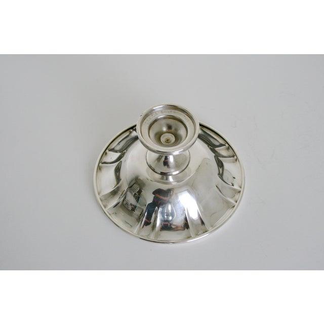 Oneida Oneida Silversmiths Pedestal Bowl For Sale - Image 4 of 5