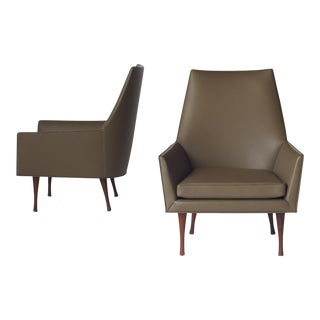 Paul McCobb Lounge Chairs - a pair For Sale