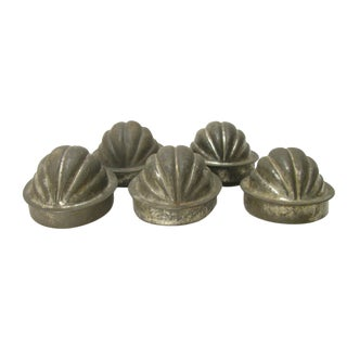Vintage English Ice Cream Moulds - Set of 5