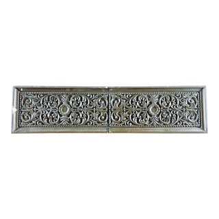 Carved Oak Architectural Frieze For Sale
