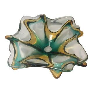 Italian Murano Glass Ashtray