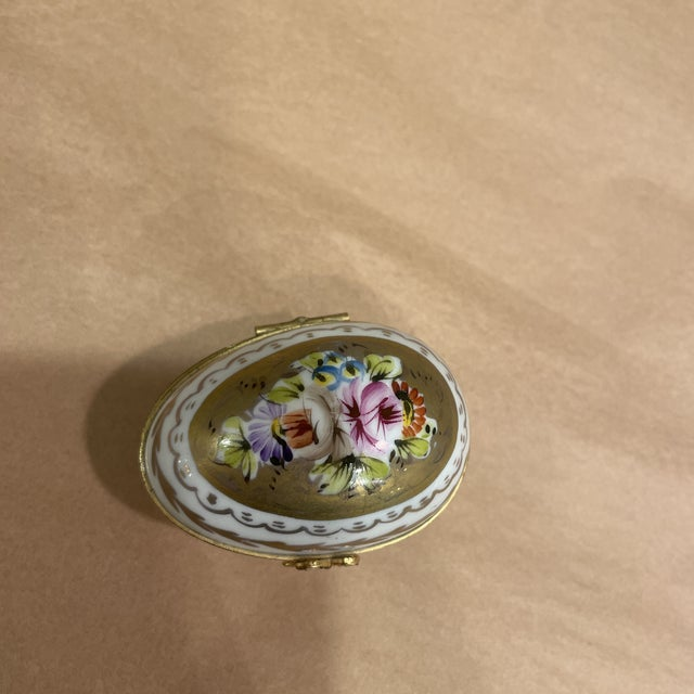 French 1950s Gout Da Villa Limoge France Box For Sale - Image 3 of 7