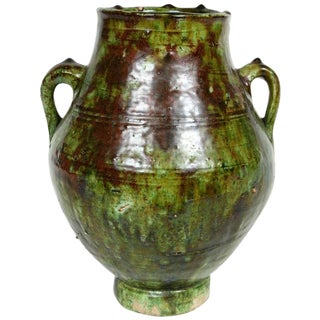 Green Glazed Terracotta Jars For Sale