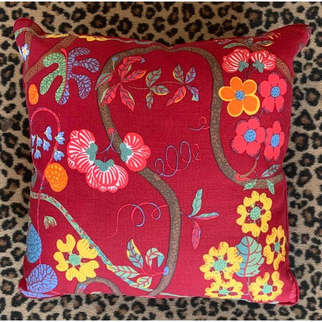 Gustavian (Swedish) Josef Frank Barranquilla Pillows For Sale - Image 3 of 3
