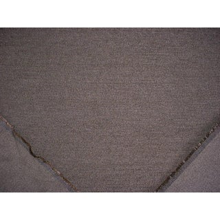 Traditional S. Harris Throne Feldstone Metallic Silver Deep Grey Upholstery Fabric - 2-1/4y For Sale