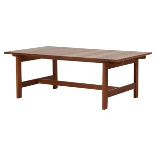 Oak Coffee Table by Kurt Ostervig, Denmark, 1960s For Sale
