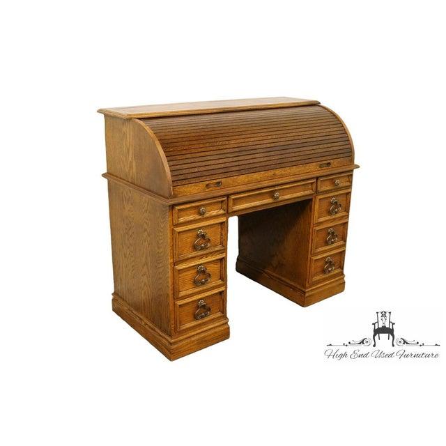 20th Century Traditional Sligh Furniture Solid Oak Ladies Writing