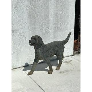 Antique Bronze Dog Retriever Preview