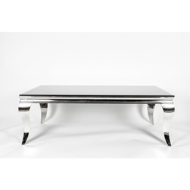 Mid-Century Modern Art Deco Style Coffee Table For Sale In New York - Image 6 of 7