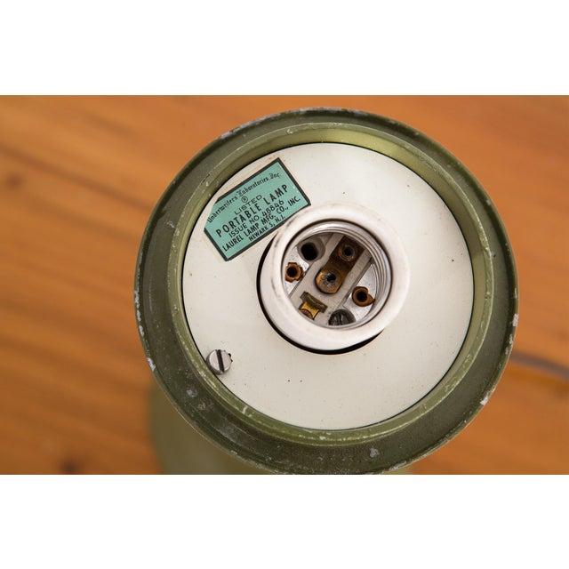 Mid-Century Modern Laurel Mushroom Lamp For Sale - Image 3 of 6