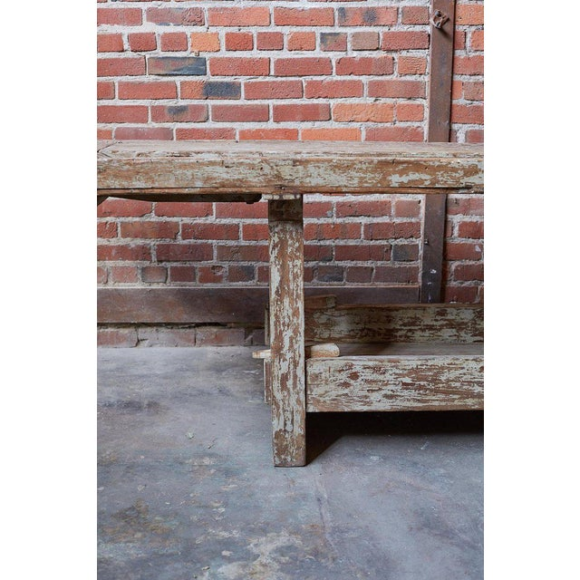19th Century French Etabli Carpenter's Work Bench For Sale - Image 4 of 13