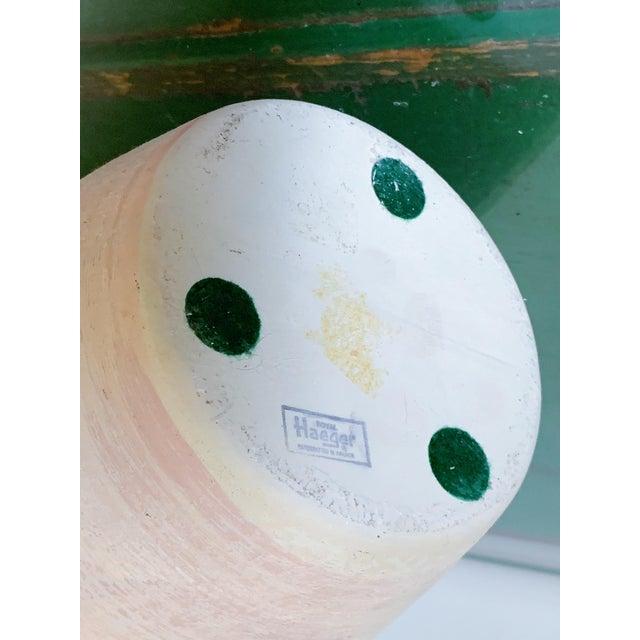 Vintage Haeger Textured Pink Ceramic Vase For Sale - Image 9 of 10