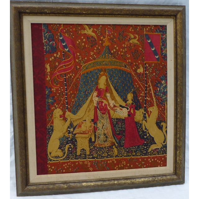 English Traditional English Country Framed Tapestry - A Pair For Sale - Image 3 of 11