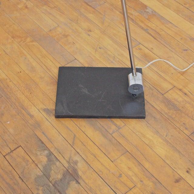 Metal 1970s Robert Sonneman Orb Floor Lamp For Sale - Image 7 of 9