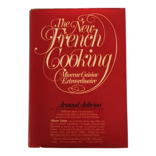 """1976 """"The New French Cooking"""" First Edition Cookbook For Sale"""