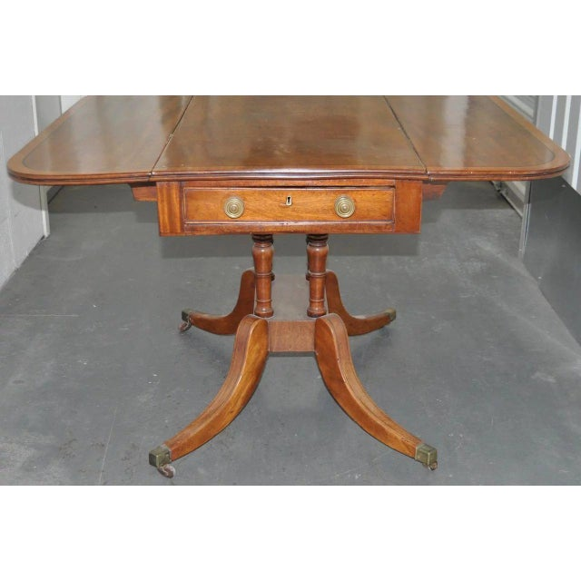 19th Century 19th Century English Regency Mahogany Breakfast Table C.1815 For Sale - Image 5 of 7