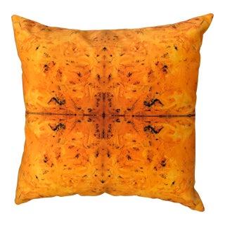 Bruce Mishell Collection Velvet & Vinyl Pillow For Sale