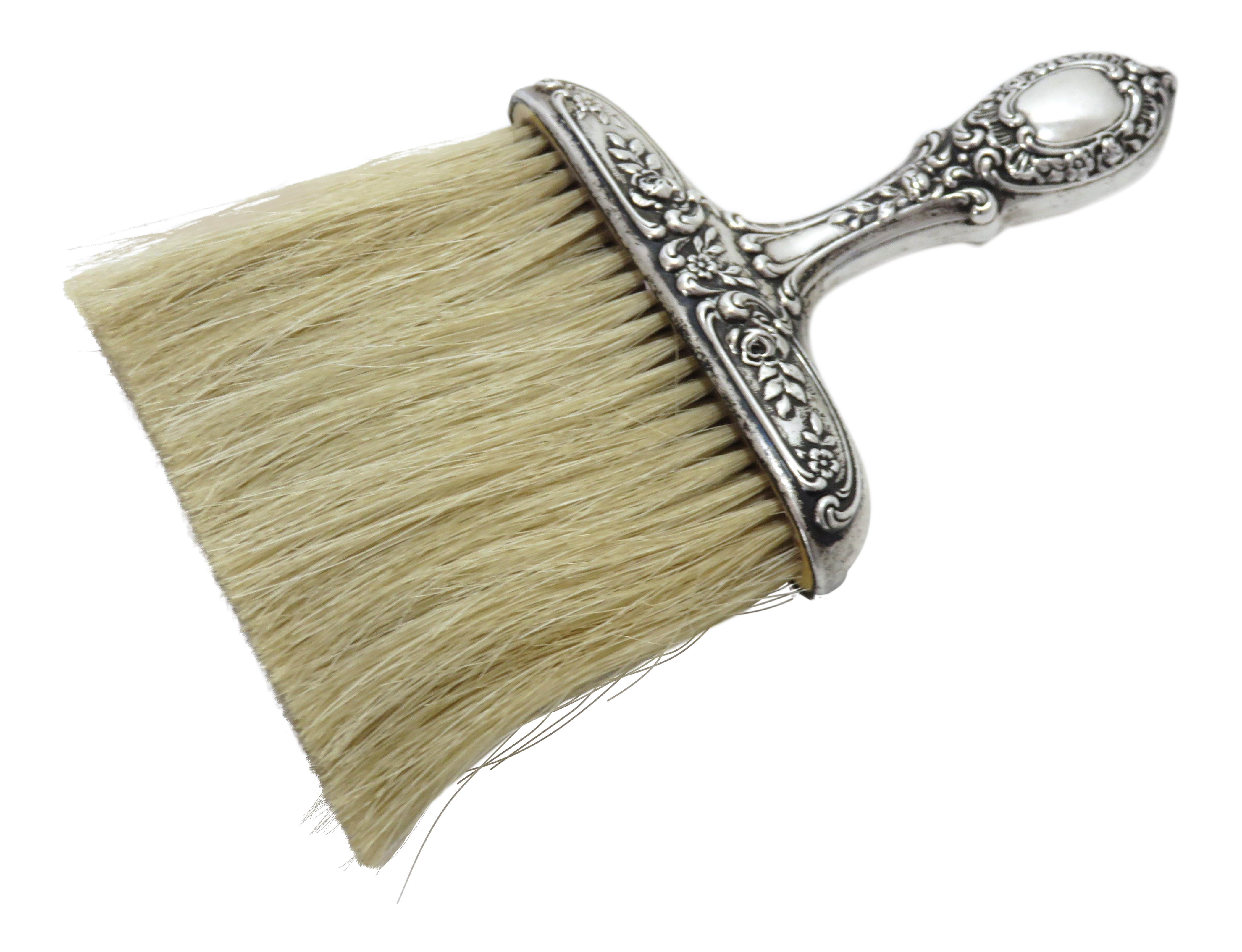 Exceptionnel 1900s Victorian Sterling Silver Table Crumb Brush