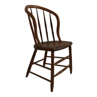 Windsor Style Wooden Chair