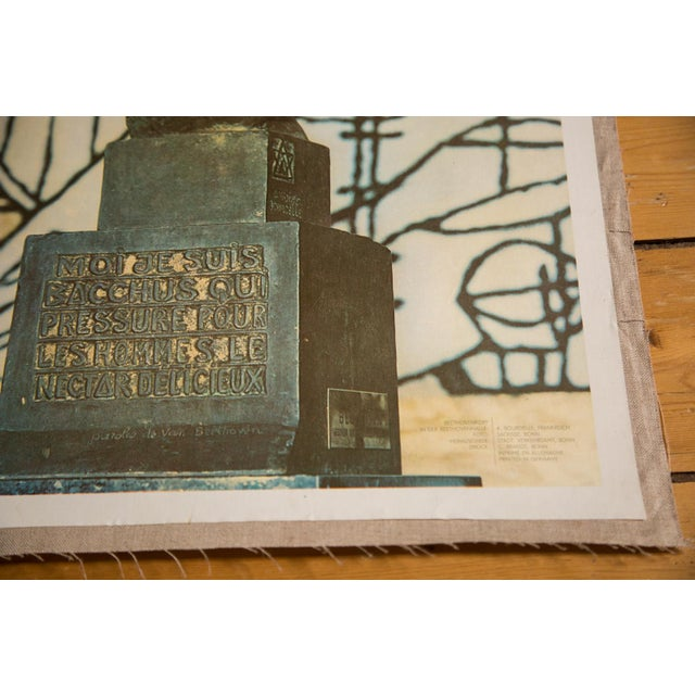 Mid-Century Modern Mid-Century Beethoven Poster For Sale - Image 3 of 4
