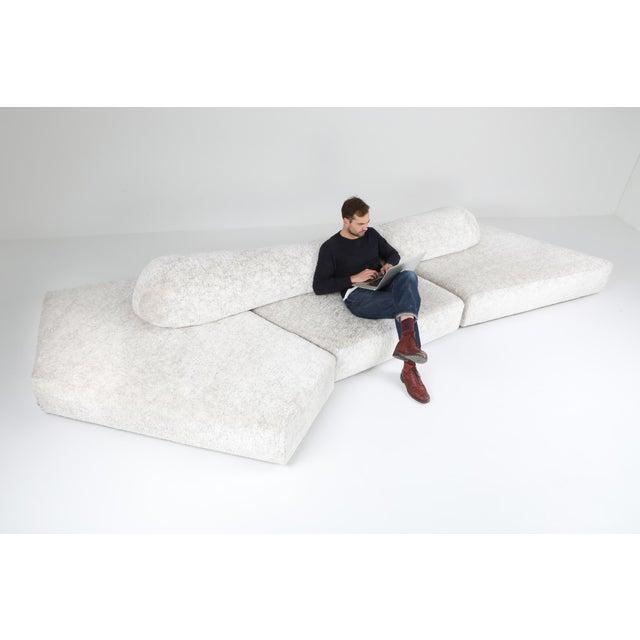 White Edra 'On the Rocks' Sectional Sofa by Francesco Binfare For Sale - Image 8 of 11