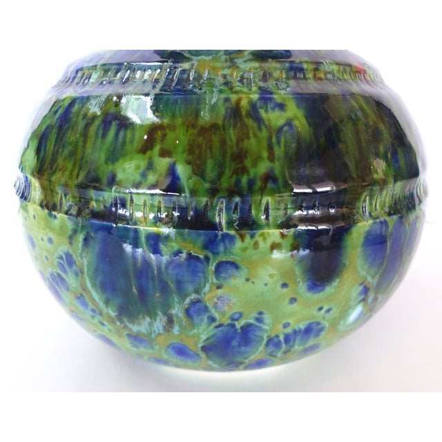 Glazed Ceramic Vase by Gary Fonseca For Sale In Miami - Image 6 of 10