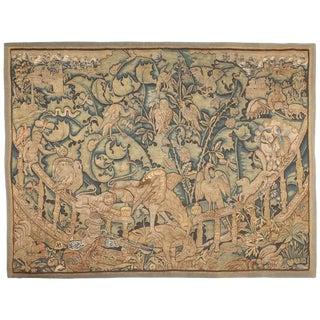 Antique 16th Century Feuilles De Choux Tapestry For Sale