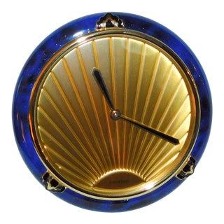 1980s Cartier Must De Cartier Desk Clock For Sale