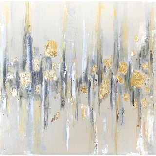 'New Years Eve' Original Abstract Painting by Linnea Heide For Sale