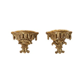 1740 French Baroque Brackets - A Pair For Sale