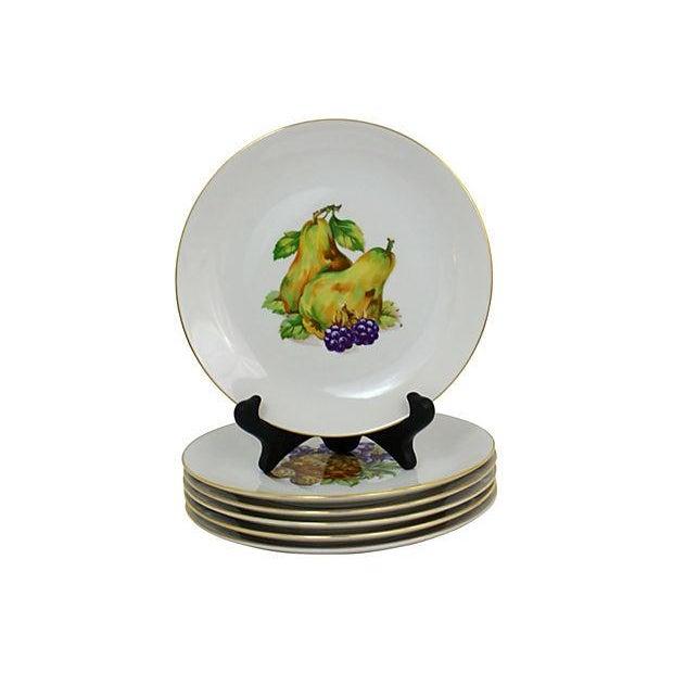 Bohemia Vintage Dessert Plates- Set of 6 For Sale - Image 4 of 9
