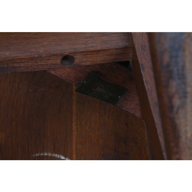 Stickley Oak Rocking Chair - Image 8 of 11