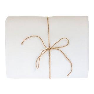 Mont Blanc Linen Tablecloth 260 x 300 For Sale