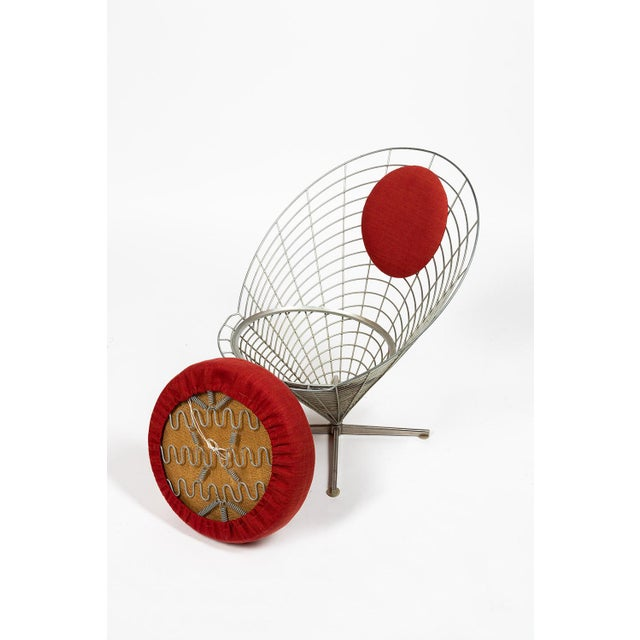 Vire Cone Chair by Verner Panton For Sale - Image 6 of 11