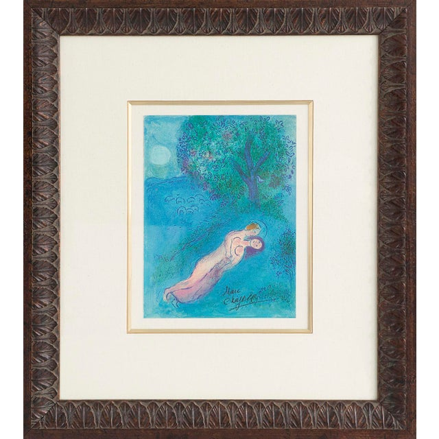 """Marc Chagall Marc Chagall, """"Daphne and Chloe"""" For Sale - Image 4 of 4"""