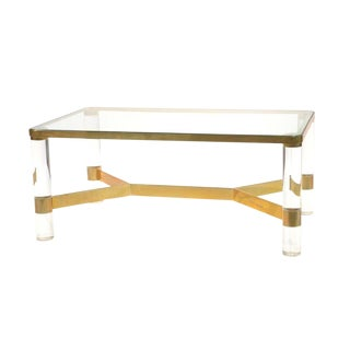 Karl Springer Coffee Table For Sale