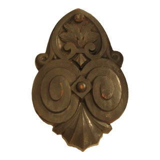 Antique French Terracotta Fountain or Architectural Element For Sale