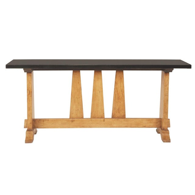 Estimated Retail Price: $1,335.00. Front and center in a hallway or behind the sofa, this console will add to your...