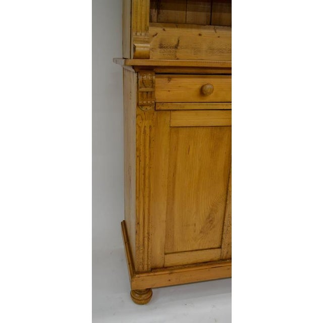 Pine Pine Glazed Buffet For Sale - Image 7 of 10