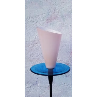 Italian Murano Glass Torchiere Floor Lamp Preview