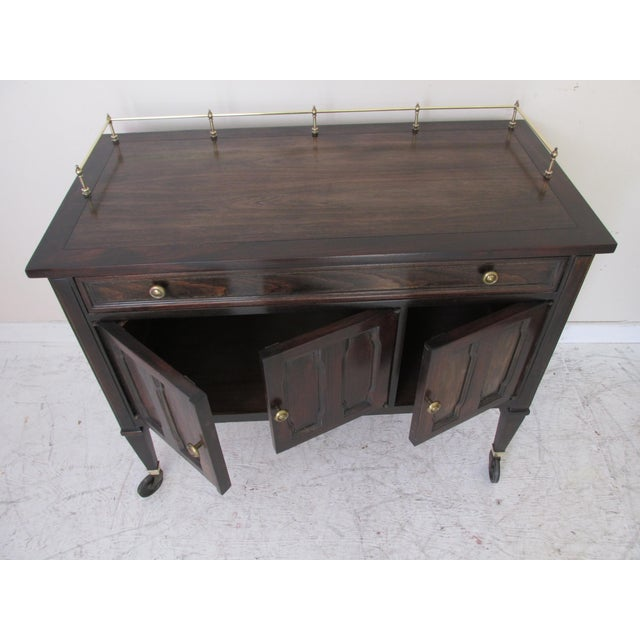 Drexel Mid-Century Serving Cart - Image 6 of 10