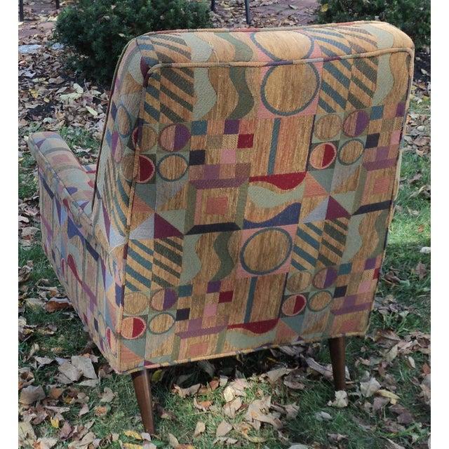 Mid-Century Modern Lounge Club Chair - Image 6 of 9
