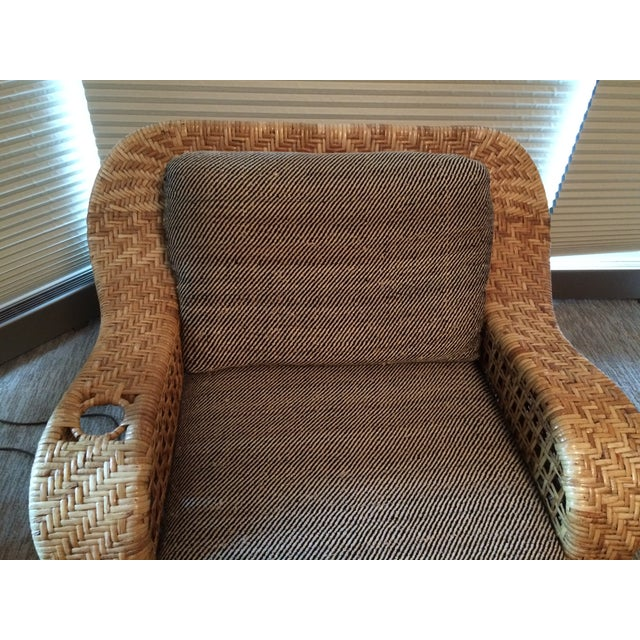 Wicker Chaise Lounge - Image 5 of 5