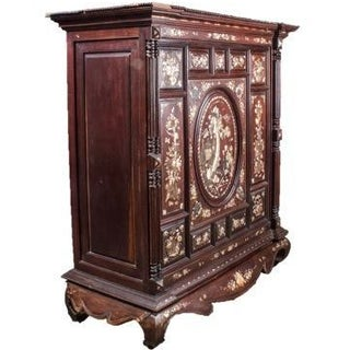 Mid-19th Century Dutch Indonesian Cabinet