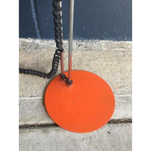 Mid-Century Orange Task Desk Lamp - Image 5 of 6