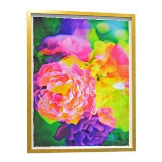 "Johnny Nicoloro ""Walking Around WeHo"" Original Floral Artwork For Sale"